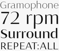 Seaside font sample