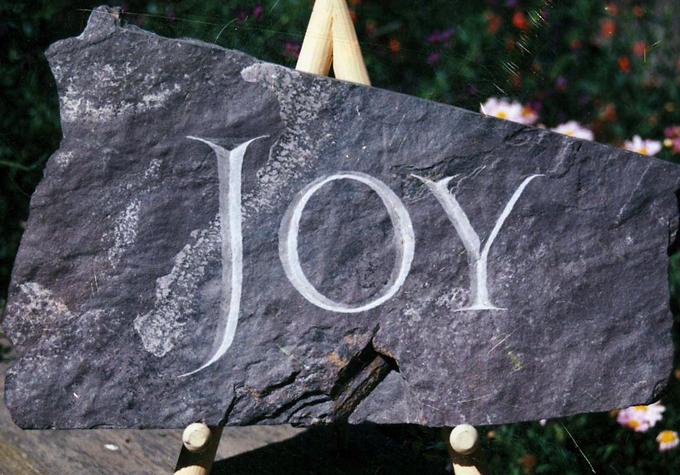 """Stonecut """"JOY"""""""