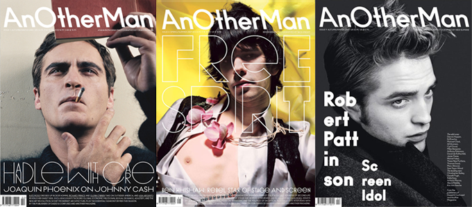 AnOther Magazine covers