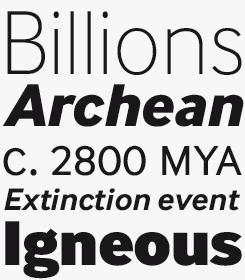 InterFace font sample