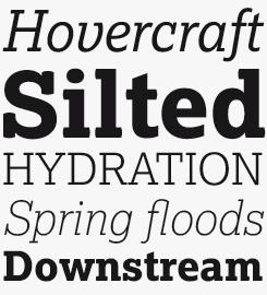 Lexia font sample