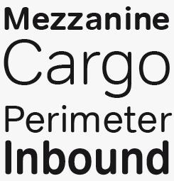 Tondo font sample