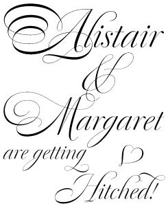 Dulcinea font sample