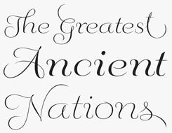 Fluence font sample