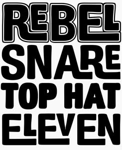 Billboard font sample