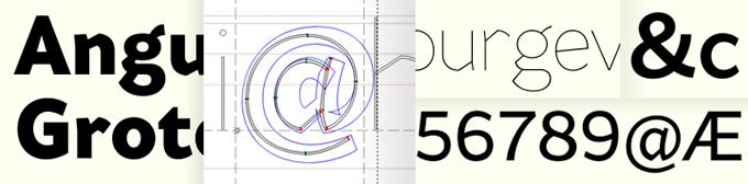 Sketches for Range Sans