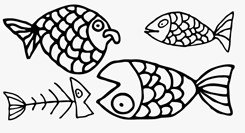 LiebeFish font sample