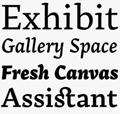 Arek Latin font sample