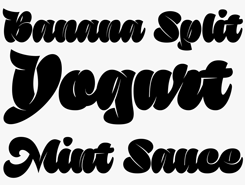 Sutturah Latin font sample
