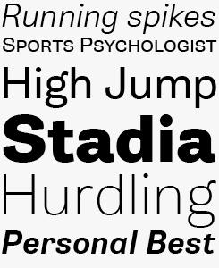 Gira Sans font sample