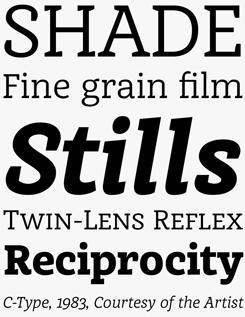 Achille FY font sample