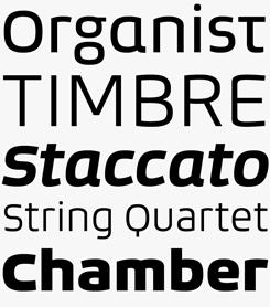 Bruum FY font sample