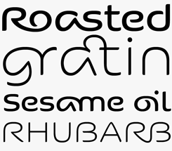 Kaili FY font sample