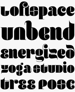 Guapa font sample