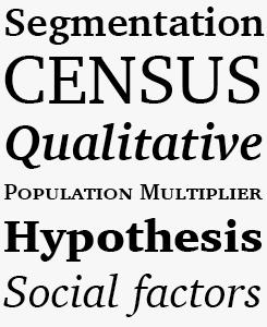 Charter font sample