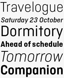Ciutadella font sample