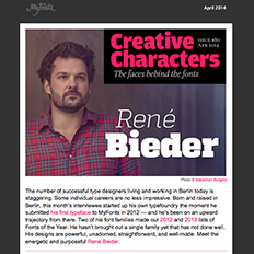 Creative Characters interview with René Bieder