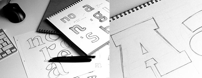 René Bieder's pencil sketches