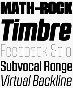 RB№2.1a font sample
