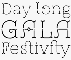 St Friska font sample