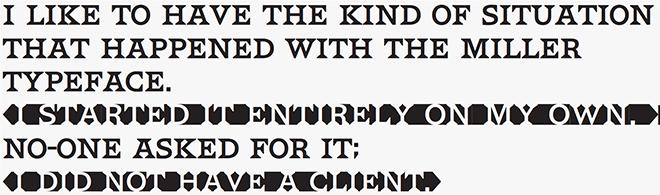 HWT Van Lanen font sample