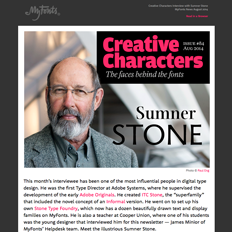 Creative Characters Interview with Sumner Stone