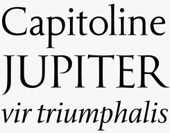 Popvlvs font sample