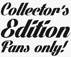 Lighthouse font sample