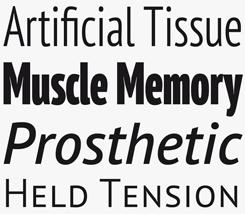 PT Sans Pro font sample