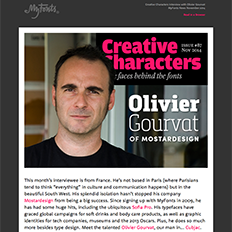 Creative Characters Interview with Olivier Gourvat