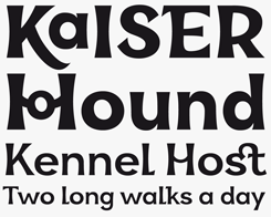 Kara Sans font sample