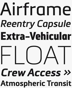 Metronic Pro font sample