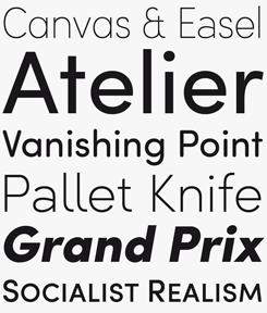 Sofia Pro font sample