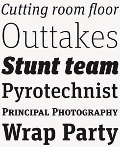 FF Unit Slab Pro font sample