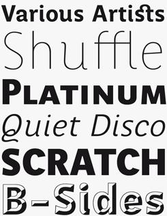Perec font sample