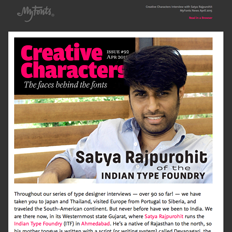 Creative Characters Interview with Satya Rajpurohit