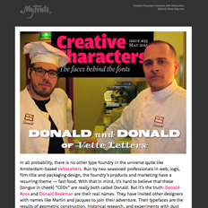 Creative Characters Interview with VetteLetters