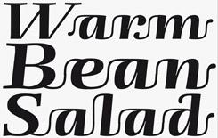 Spaghetti Bolognese font sample