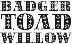 Saphir™ font sample