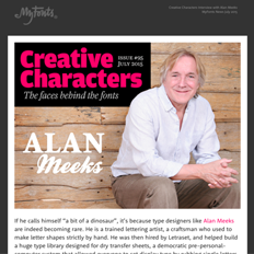 Creative Characters Interview with Alan Meeks