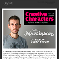 Creative Characters Interview with Ryan Martinson