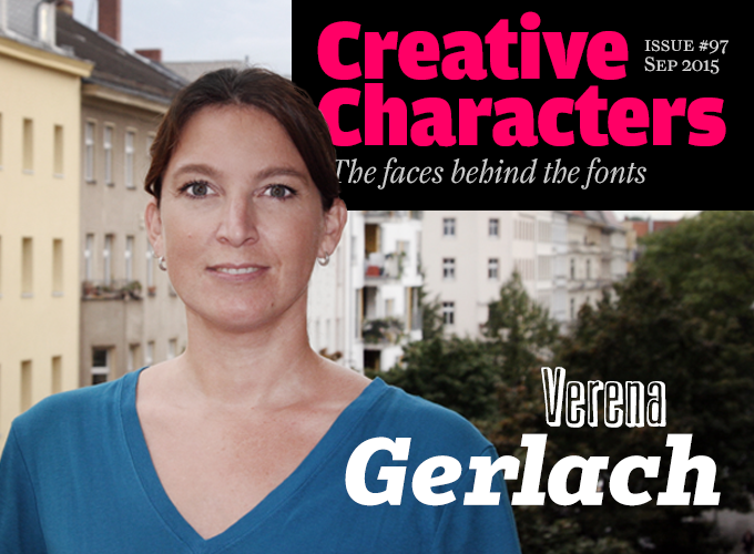 Interview with :   Verena Gerlach, Graphic Designer