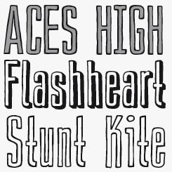 Trafo font sample
