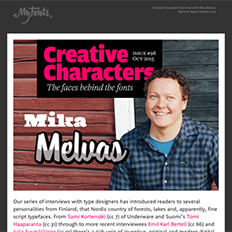 Creative Characters Interview with Mika Melvas