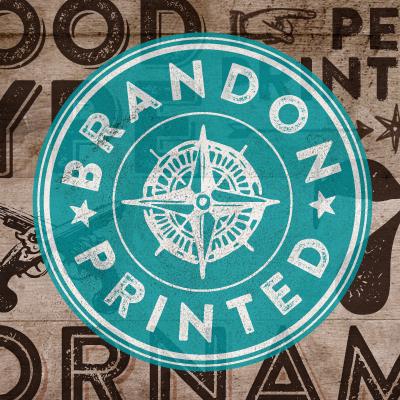 Brandon Printed Poster