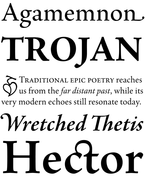 Linotype Agmena Font Sample
