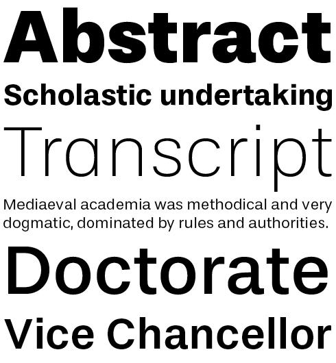 TypeFolio Stevie Sans Font Sample