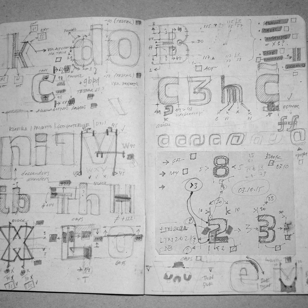 Marconi Limas sketchbook