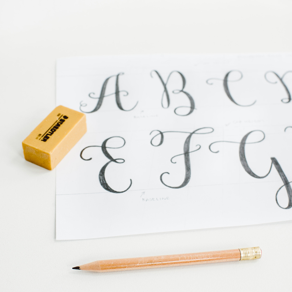 Sketches for Mulberry Script