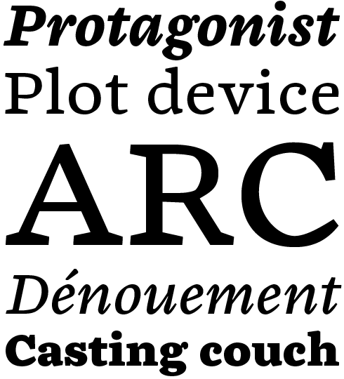 Chiavettieri Font Sample